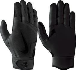 Nike Youth Huarache Edge Batting Gloves Black Size Large
